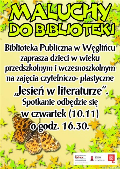 MALUCHY DO BIBLIOTEKI